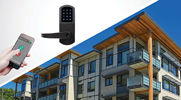 Smart locks are easy to install and operate